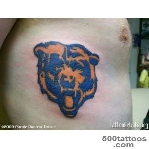Chicago Bears Tattoo For Fans  Fresh 2016 Tattoos Ideas_47