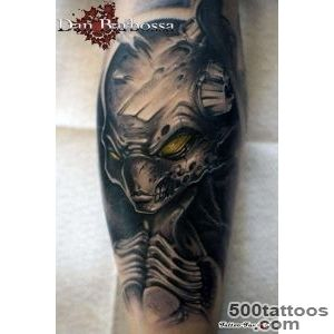 Terrifying Alien Tattoo For Tattoo Fans  Tattooshuntcom_4