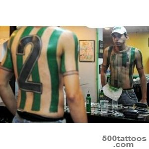 These Soccer Fans Wear Their Loyalties On Their Skin  TIME_28