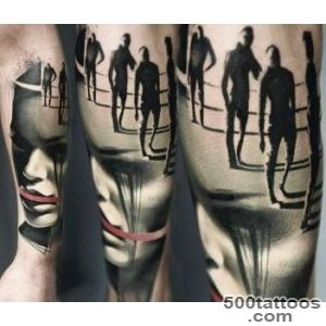 Face and Figures tattoo by Timur Lysenko  No 1426_15