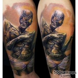 Figures tattoo by Csaba Kolozsvari  Photo No 6810_44