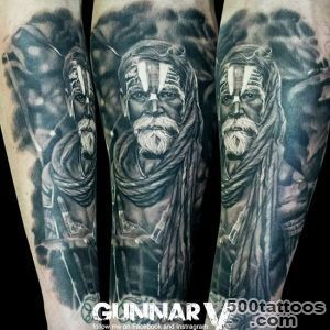 Figures tattoo by Gunnar V  Photo No 12835_40