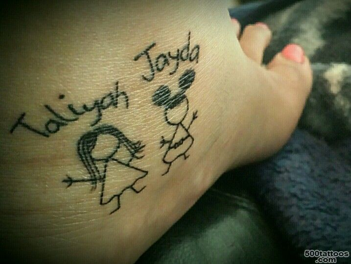 Trying to find some cute stick figures to add to my tattoo of the ..._21