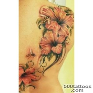 40 Magnificent Hibiscus Flower Tattoos  Art and Design_48