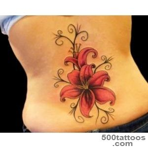 50 Creative and Beautiful Flower Tattoos You Must See  Tattoos Me_12