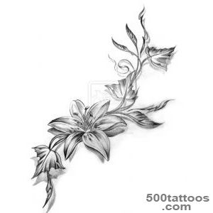 Flower Tattoo Images amp Designs_45