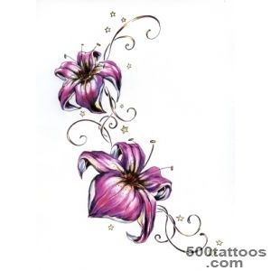Flower Tattoos, Designs And Ideas  Page 19_16