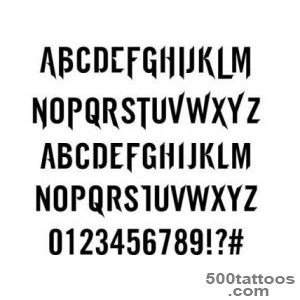 47 free tattoo fonts for your body art  Creative Bloq_8