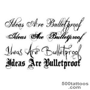 cursive tattoo fonts ideas Cursive Tattoo Fonts  Tattoos _19