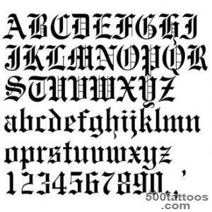 Lettering Style Tattoo Fonts amp Designs   Tattoes Idea 2015  2016_9