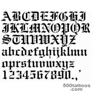 Tattoo Fonts  Free Tattoo Pictures_3