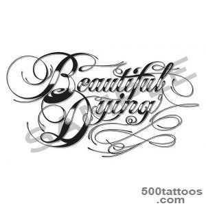 tattoo fonts generator calligraphy  Tattoo_46