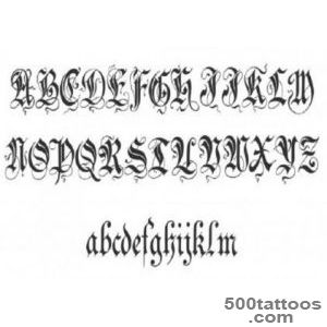 Tattoo Fonts on Veauty_6