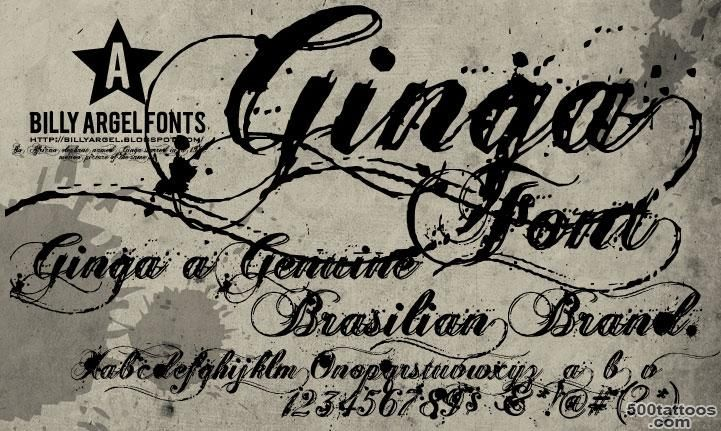 15 Tattoo Fonts For Ink Lovers_30