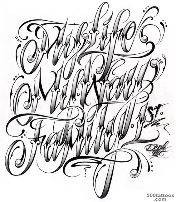 Existance Tattoo Lettering Fonts Cursive Letters Tattoos Page My 15