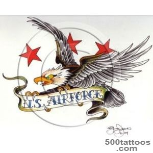 Memorial US Air Force amp Army Tattoo Design  Tattoobitecom_7