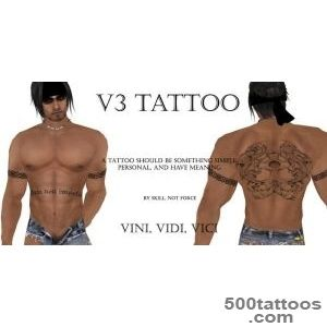 Second Life Marketplace   v3 Tattoo   By Skill Not Force_8