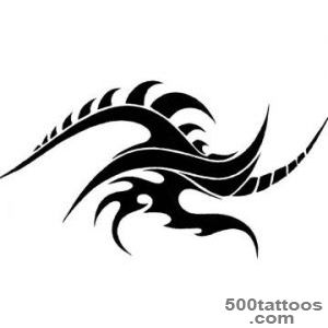 Tribal Fire Tattoo   Clipartsco_26