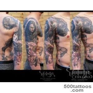 Voluta Tattoo  Completed Tattoos by Conan Lea  Dark Side of the _42