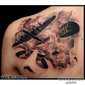 Realism Shoulder War tattoo on Art Force Tattoo_19