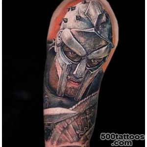 50 Gladiator Tattoo Ideas For Men   Amphitheaters And Armor_3