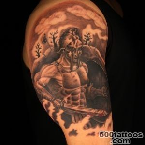 Gladiator and tiger tattoo   TattooMagz   Handpicked World#39s _22