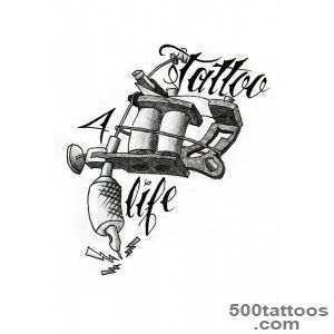 Tattoo machine by TeenageQueerdeviantartcom on @DeviantArt _12