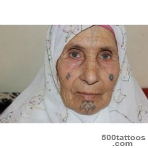 Algeria Behind the Aures Women#39s Tattoos  Pulitzer Center_6
