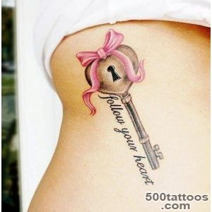 50 Inspiring Lock and Key Tattoos  Art and Design_38