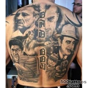 Back Tattoo  Tattoos I Like  Pinterest  Back tattoos, Mafia and _2