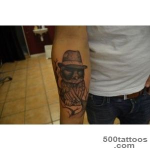 DeviantArt More Like mafia owl tattoo by johan887766_9