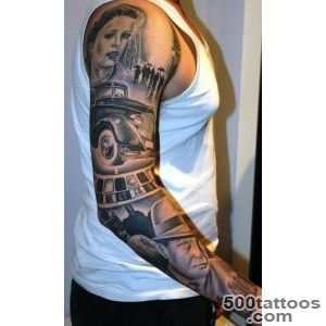 gangster theme sleeve by tattoomini  Tattoo ideas  Pinterest _39