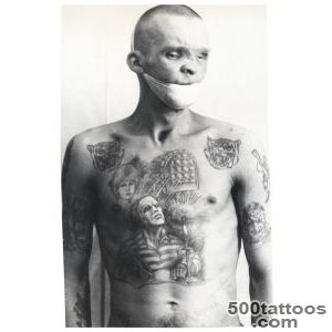The Visual Encyclopedia of Russian Prison Tattoos  VICE  United _19