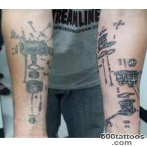 21 Inspired Mechanic Tattoo Design Ideas_20