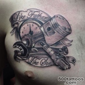 mechanic wrench tattoo on Instagram_10