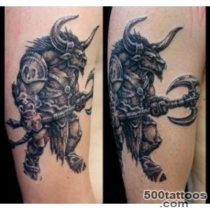 Inner Vision Tattoo  Minotaur by Chris Meadley_9