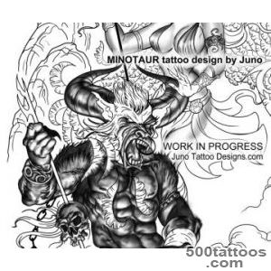 Pin Top Minotaur Drawings Images For Pinterest Tattoos on Pinterest_17
