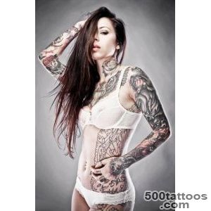 Tattoo Model   Gogo Blackwater  Tattoo No 1330_6
