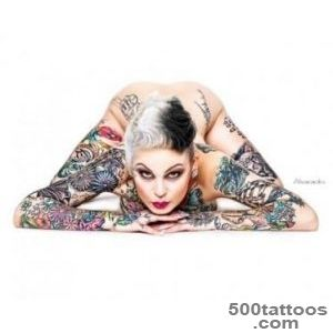 Tattoo Model Samantha Smith  InkedGirlsus_32JPG