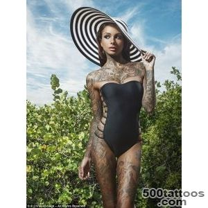 The stunning tattooed US models making it big on the catwalk _21