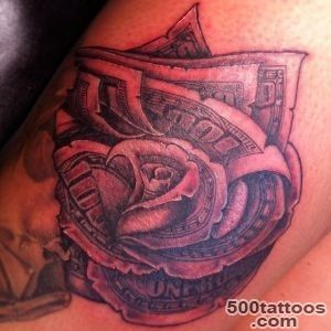 Money Tattoos Designs, Ideas and Meaning  Tattoos For You_46