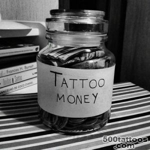 Tattoo Money Jar Going back to basics, go to get myself one _18