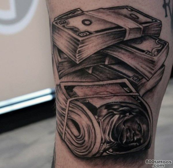 Money Tattoo Designs Ideas Meanings Images