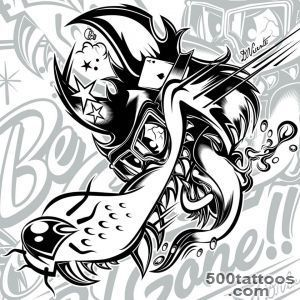 "Design ""Be good or be gone!!"" for TATTOO MOTO     dvicente artcom_27"