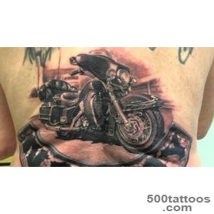 Harley Davidson moto tattoo   YouTube_25