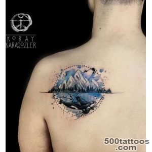 40+ Mountain Tattoo Ideas  Art and Design_25