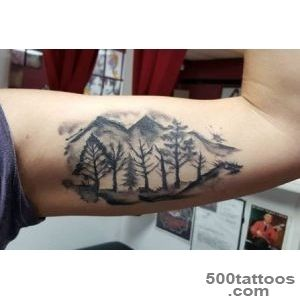 40 Mountain Tattoo Designs For Men   Climb The Highest Peak_42
