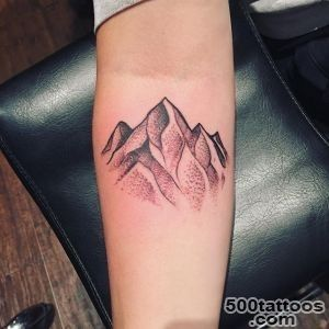50+ Nice Sleeve Mountain Tattoos_36
