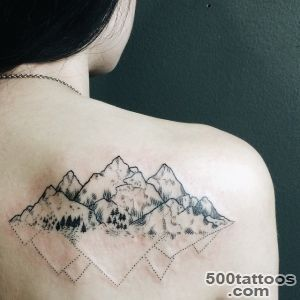 60 Fabulous Mountain Tattoo Designs for All Ages_3