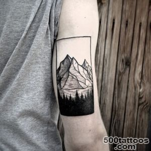 60 Fabulous Mountain Tattoo Designs for All Ages_16